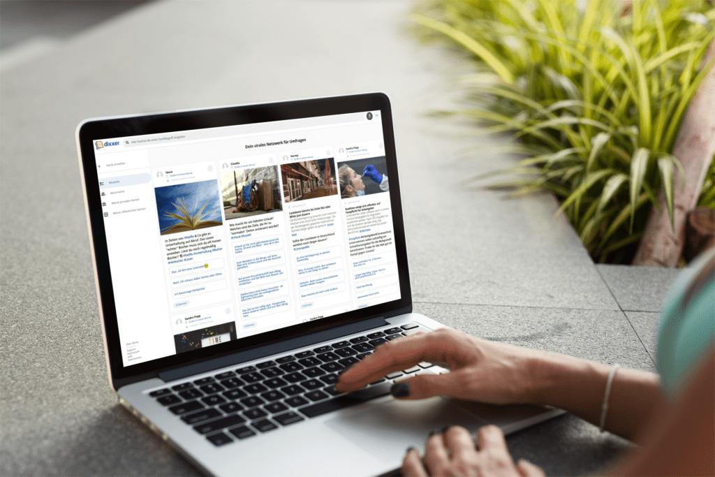 company.dixxer.com: Dein virales Netzwerk für Umfragen
